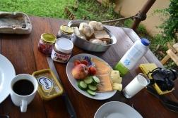 kruger nationalpark South africa breakfast