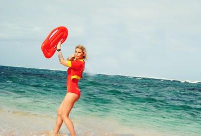 Flic en Flac Beach Baywatch