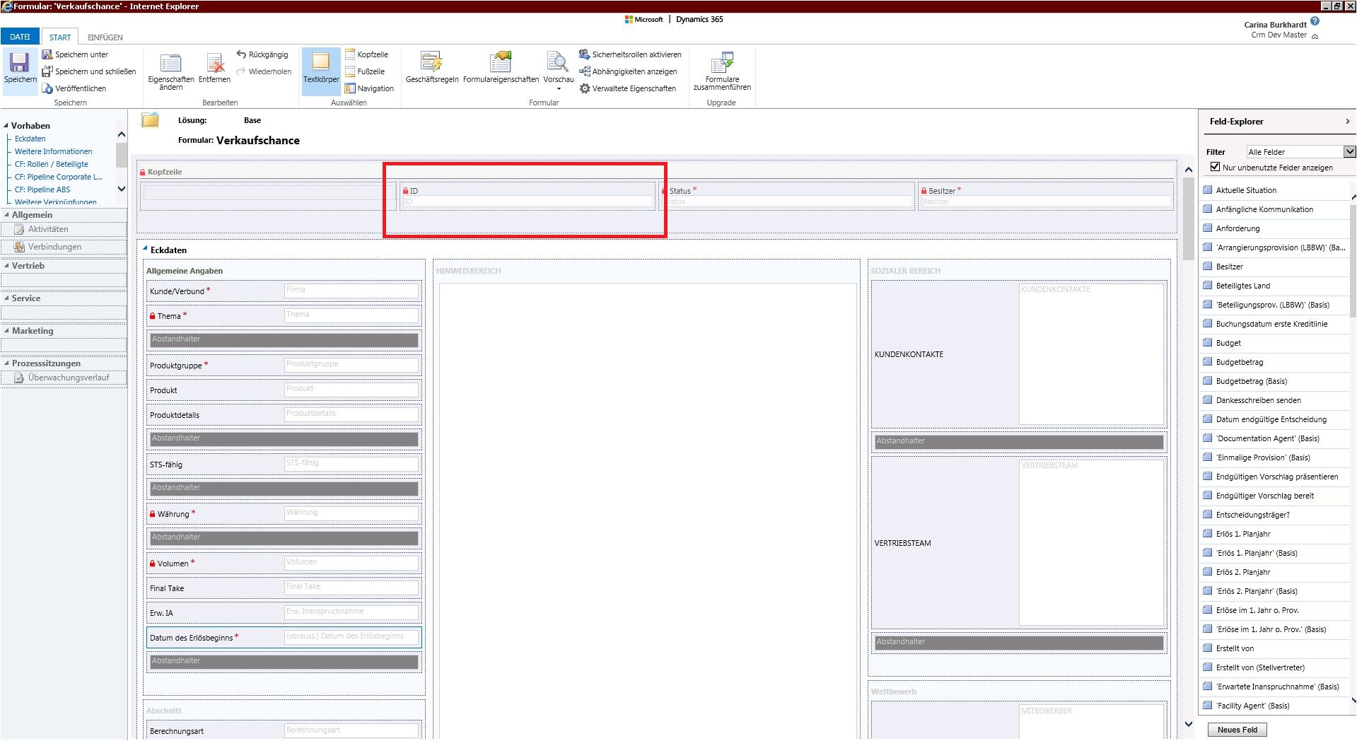 Microsoft Dynamics CRM: How to set a unique ID for an entity